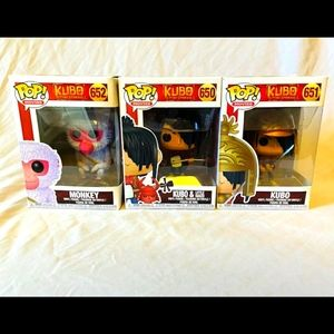 Kubo and the Two Strings Funko Pops